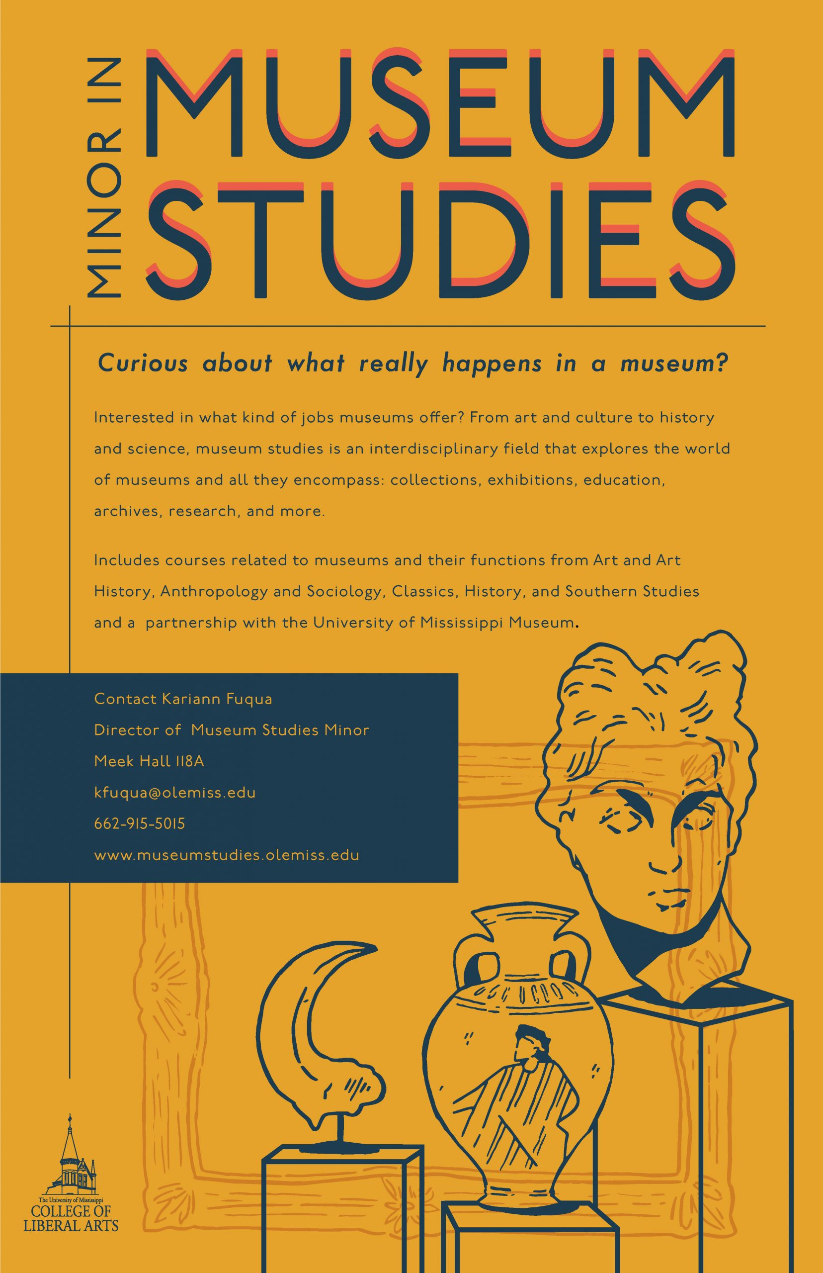 Learn more about the Minor in Museum Studies